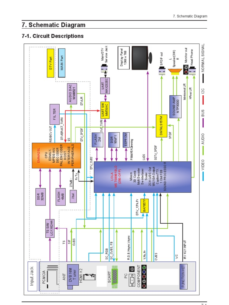 T Con Circuit Diagram