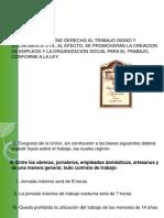 Art 123 y Ley Federal Del Trabajo