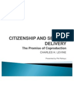 Citizenship and Service Delivery