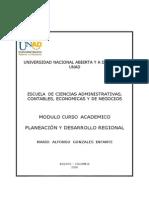 Planeacion y Desarrollo Regional Modulo Actualizado Feb 8 de 2011