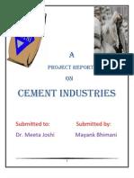 Mayank - Cement