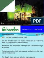 Benetton Supply Chain Management