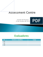 Assessment Centre Gte de Proyecto 2011