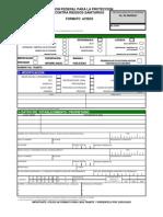 Formato Avisos con guía e intructivo
