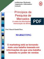 Princípios Da Pesquisa de Marketing