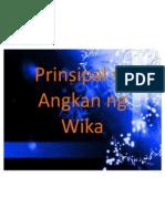 Prinsipal Sa Angkan Ng Wika.ellamarfil2