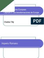 Las transformaciones de Europa (versión 2003)