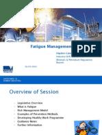 HCater Fatigue Presentation