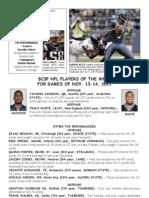 BCSP NFL ProFile - November 15, 2011