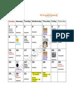 Hindu Calendar 2012 With Tithi North Indian Calendar