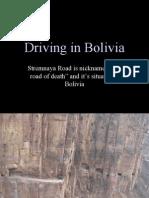 DrivingInBolivia