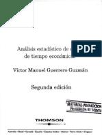 Analisis Estadistico de Series de Tiempo Economic As by Guerrero
