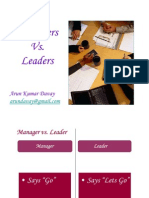 Managers vs.leaders - 45 Differences