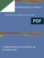 DISEÑO DE CANALES DE DISTRIBUCION