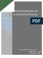 Hechos estilizados de la Economía Peruana-Silva Christian