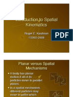 Introduction to Spatial Kinematics