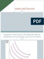 IsoQuants and Isocost