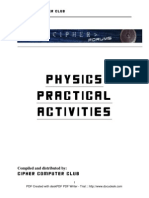 Phy Practical Activities Format
