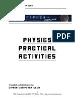 Phy Practical Activities Format