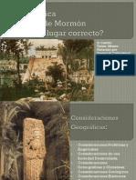 Mesoamérica y el libro de Mormón. ¿Es éste es el lugar correcto?