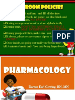 Nursing Pharmacology 2011