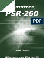 Yamaha PSR-260 Owner's Manual