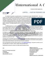 Carta Para Patrocinadores