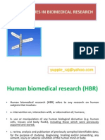 Ethical Issues in Bio Medical Research