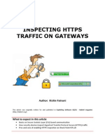 Inspecting HTTPS Traffic on Gateways