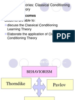 (8.1) Classical Conditioning Theory
