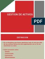 GESTION DE ACTIVOS!