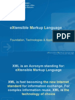 01 - XML - Introduction to XML
