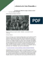 a história de joão ramalho e o indio Tibiriçá