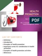 Health Promotion (Emellia)
