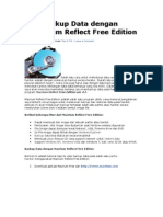 Membackup Data Dengan Macrium Reflect Free Edition