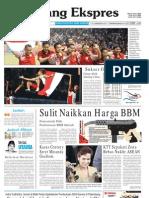 Koran Padang Ekspres | Rabu, 16 November 2011.