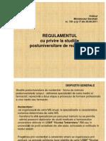 Rezidenti 2011 ORDIN MS Generalizari