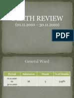 Death Review Nov 2010