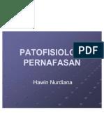 PATOFISIOLOGI PERNAFASAN FARMASI