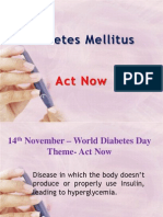 Diabetes Mellitus - An Overview