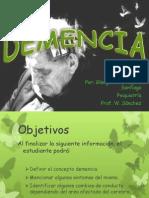 Presentacion de La Demencia