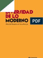 La diversidad de lo moderno. Arte de Rosario en los años 50