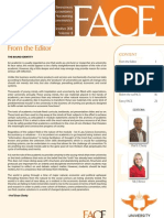 FACE Newsletter Volume 4 October 2011