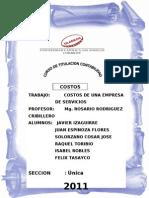 TRABAJO DE COSTOS