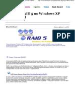 Tutorial- RAID 5 no Windows XP Professional - Fórum do BABOO - Windows, Windows Server, Segurança, Hardware, Software, Games e Multimídia
