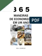 Livro Virtual 365 Maneiras de Economizar Em Um Ano