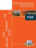 4. Suedasientag - Uni Hamburg (18.11.2006) - Flyer (English)