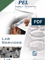 PEL Oil Lab Services Brochure