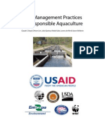 Best management practices for responsible Aquaculters