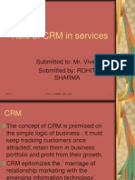 CRM in Services